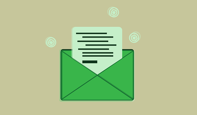 dopis v obálce