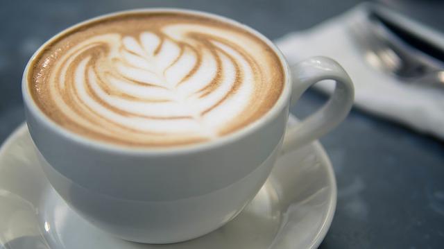 káva latte