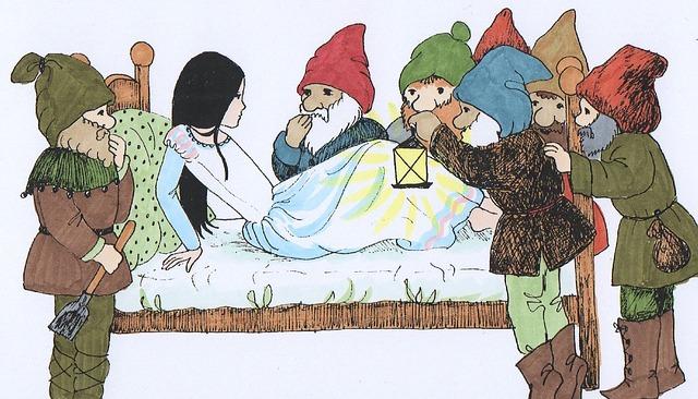 kresba Sněhurky