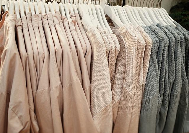 Uspořádaný šatník