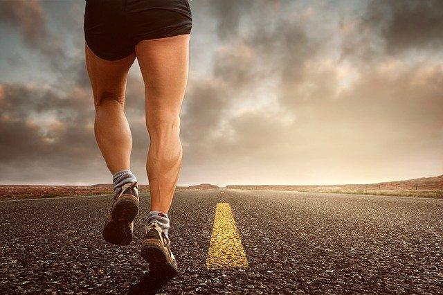 energie, běhání